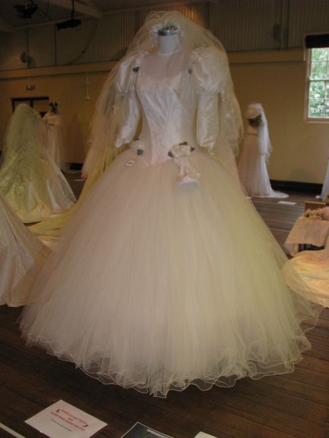 1993 Beautiful Raw Silk And Tulle Wedding Gown Custom Made From The House Of Jean Fox In Parramatt Tulle Wedding Gown Wedding Dresses Flower Girl Dresses