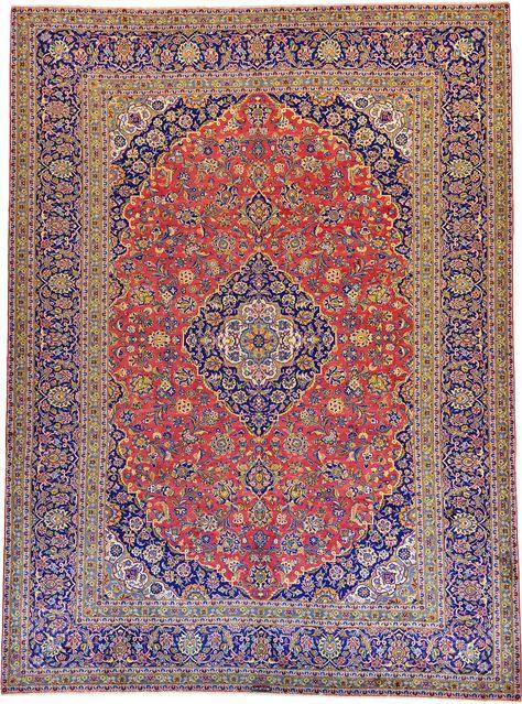 Red 10 2 X 13 9 Kashan Rug Persian Rugs Esalerugs Kashan Rug Rugs Persian Rug