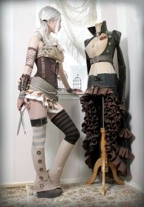 About Steampunk Couture