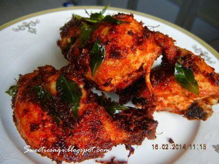 Sweetiesaqi Ayam Goreng Berempah Simple Dan Sedap Ayam Goreng Kari Ayam Kari