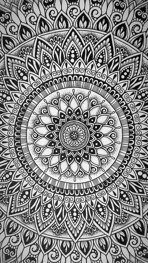 Easy Mandala Art Design Ideas Malerei Schablonen Mandala Muster Mandala Kunst