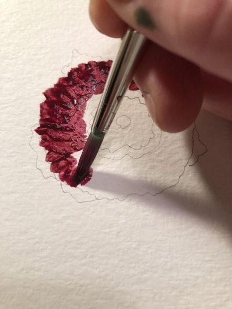 33 Facons Les Plus Populaires De Peintures A L Aquarelle Facile