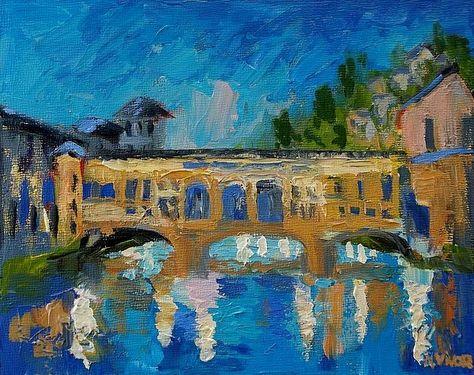 Ponte Vecchio by Mona Vivar