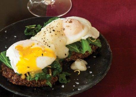 Quinoa Eggs Florentine | Vegetarian Times