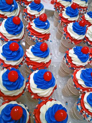 Patriotic Memorial Day Desserts With Images Memorial Day