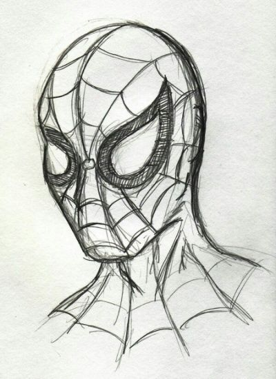 Spiderman Drawing Pinteres Spiderman Dibujo Dibujos Marvel