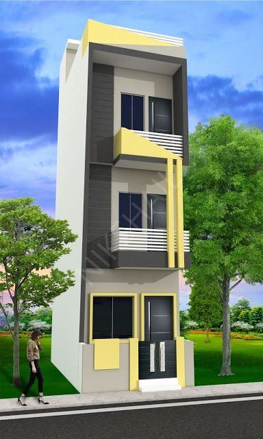 10 X 20 House Plans Awesome 10x20 House Plan With 3d Elevation By Nikshail In 2020 Duplex House Design Narrow House Designs Small House Design