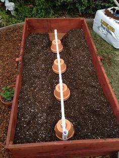 Preparing For Hard Times Ollas And Underground Irrigation Techniques Preparation For Heavy Time Bewasserung Garten Garten Hochbeet Erhohte Beete
