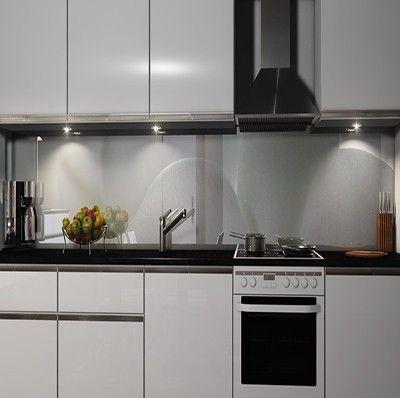 Küchenrückwand Folie Küchenrückwand aus glas Pinterest - nischenplatten für küchen