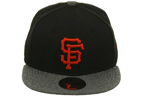 New Era 2Tone San Francisco Giants Fitted Hat - Black 9c9037996ff