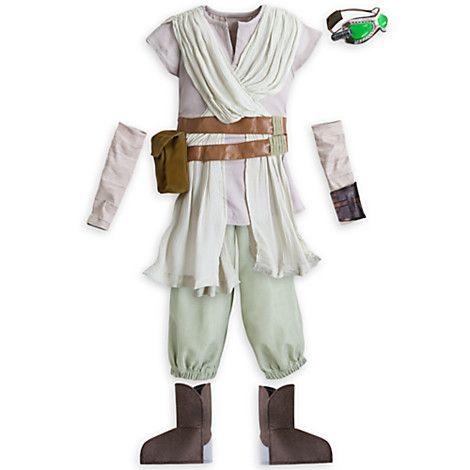 Déguisement Rey de Star Wars pour enfants