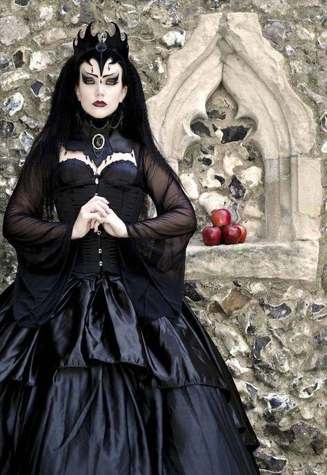 Mädchen Halloween Kleid Königin Vampir Kostüm Kinder Karneval Maskerade Party