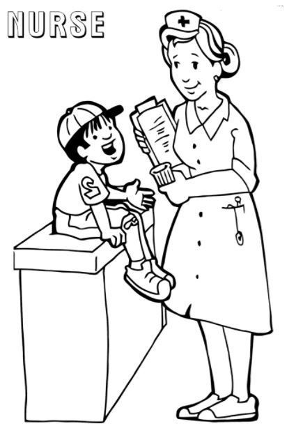 Nurse Joy Coloring Pages Pokemon Coloring