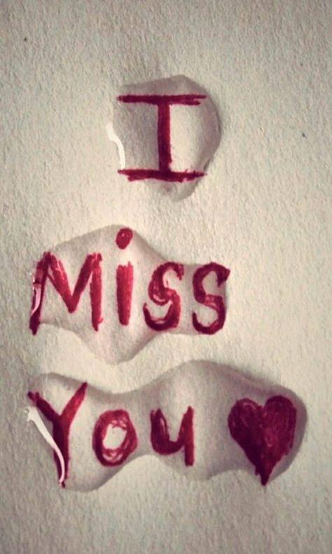 I Miss You #relationship
