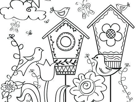 Pin By Jb On Places To Visit In 2020 Spring Coloring Sheets Spring Coloring Pages Coloring Books