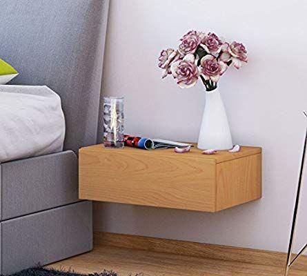 Vcm Wand Nachttisch Wandschublade Schublade Tisch Nachtschrank