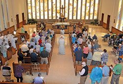 Four Residences In Archdiocese Of Indianapolis Base Their Care Of