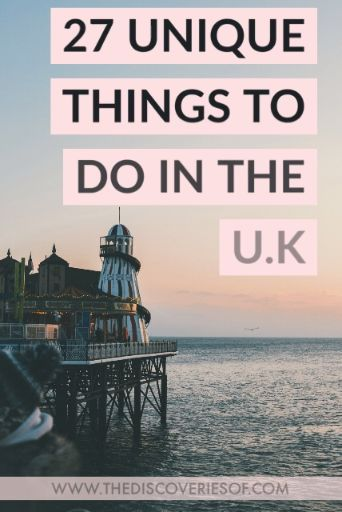 The Great British bucket list! 27 awesome things to do in the UK for your travels #travel #bucketlist #wanderlust