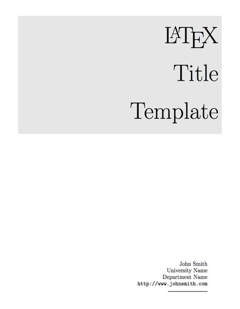 enter image description here LaTeX Templates Pinterest - Fax Cover Page Templates