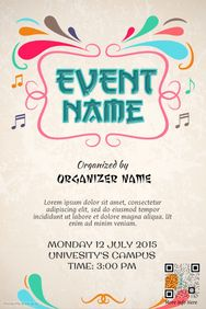 free printable event flyer - Free Printable Event Flyer Templates