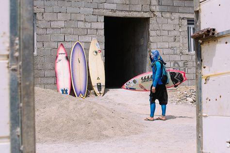 Iranische Surferinnen auf der Feminismuswelle | Broadly