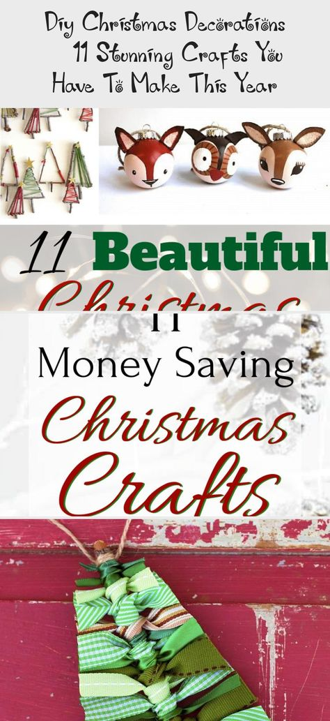 11 Stunning DIY Christmas Decorations You Will Obsess Over #christmasdecorations #rusticchristmas #easychristmascrafts #festivedecorations #diydecorTeenagers #diydecorMinimalist #diydecorGifts #diydecorHome #diydecorPaper