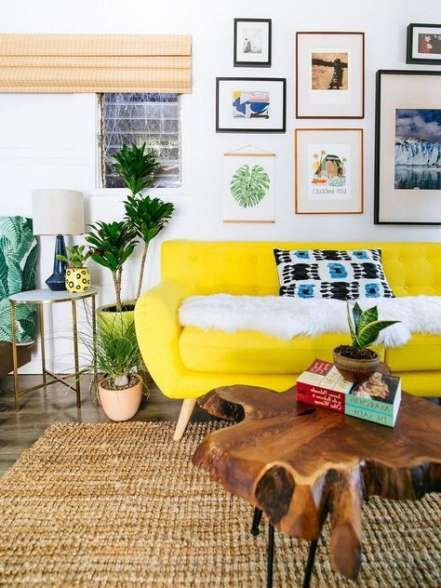 15 Ideas For Living Room Yellow Furniture Spaces Living Room Color Schemes Room Color Schemes Perfect Living Room