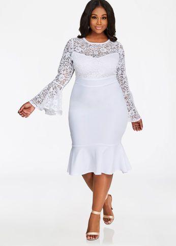 Plus Size Long Sleeve Lace Dresses Find The Perfect Style Plus Size Long Sleeve Lace Dress Vestidos Estilosos Vestidos Moda Para Gordinhas