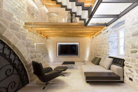 indirekte-beleuchtung-led-wohnzimmer-wand-fernseher-nische - deutsches wohnzimmer