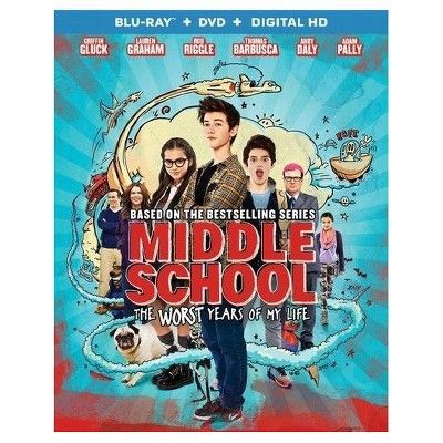 Middle School The Worst Years Of My Life Blu Ray Dvd Digital Middle School Movie Middle School Of My Life