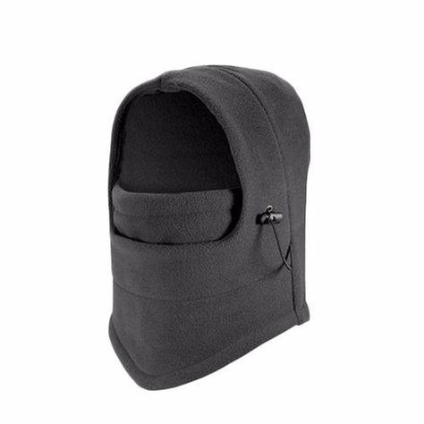 817ca51b89100 Motorcycle Face Mask For Men Outdoor Helmet Hood Ski Sport Neck Face Mask  Black Read Gray
