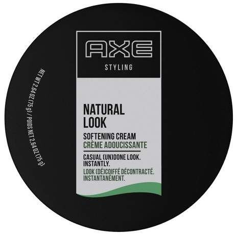 Axe Natural Look Softening Cream Hair Styling Gel 2 64oz Hair Cream Styling Gel Axe Hair Products