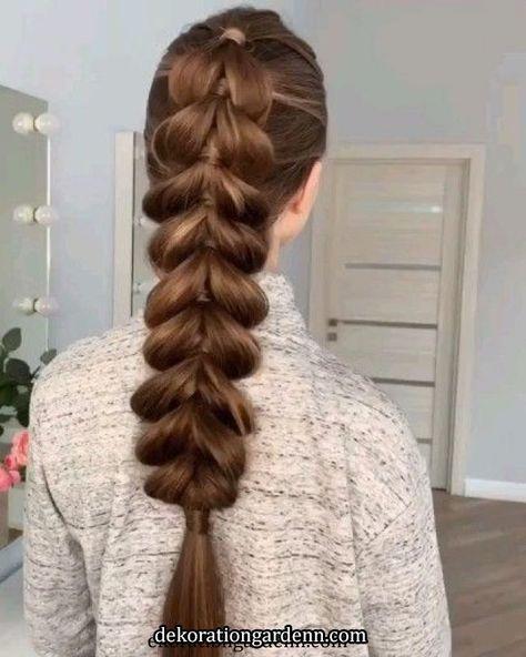 Stylish braided hairstyle tutorial   Stylish braided hairstyle tutorial