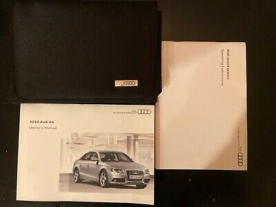 Advertisement Ebay 10 2010 Audi A4 Owners Manual In 2020 Owners Manuals Audi A4 Ebay