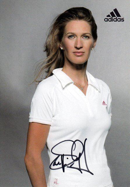 Steffi Graf Enu Tennis Wimbledon Grand Slam Original Signed Signed Ebay Ebay Enu Graf Grand Ori Steffi Graf Tennis Players Female Ladies Tennis