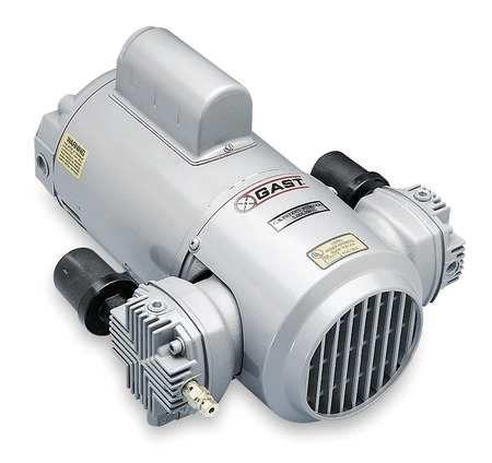 Gast Gray Paint Piston Air Compressor Vacuum Pump 13 1 6 Vacuum Pump Air Compressor Best Portable Air Compressor