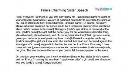 Maid Of Honor Speech 1 Fatherofthegroomspeech Matron Of Honor Speech Wedding Speech Maid Of Honor Toast