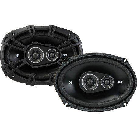 Kicker 43dsc69304 Ds 6x9 360 Watt 3 Way 4 Ohm Car Audio Coaxial Speakers Pair Walmart Com In 2021 Car Audio Car Speakers Kicker Amps