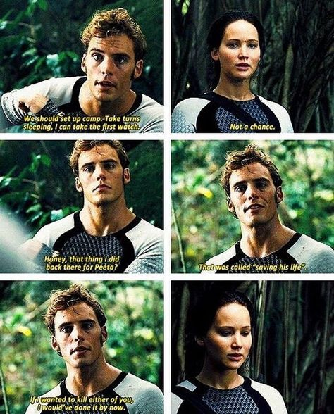 The Hunger Games: Catching Fire so much sass finnick