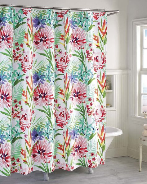 Kate Spade Paintball Floral Shower Curtain Products Floral