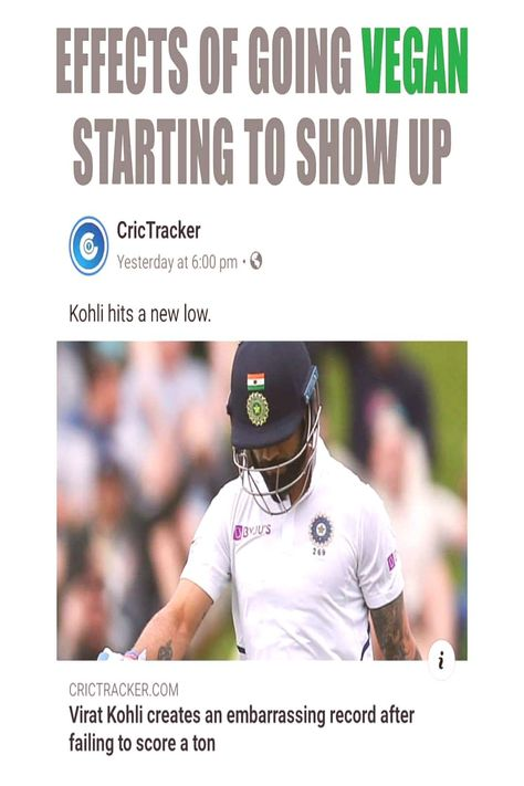 #earlier #laughs #people #vegan #virat #kozhi #more #said #back #text #ism #let #one #and #as 'VEGAN' - ism laughs back at Virat Kozhi, as i said earlier. Let'You can find Paleo diet and more on our website.'VEGAN' - ism ...