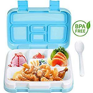 HomeFun-Brotdose im Eule-Form Vesperdose mit Trennwand Lunchbox Mittagessen f/ür Kinder M?dchen Junge