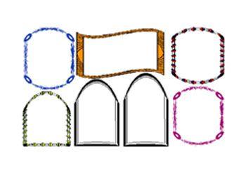 اروع مطويات جاهزة للكتابة تحميل مطويات جاهزة للكتابة Kids School Decor Crochet Dress