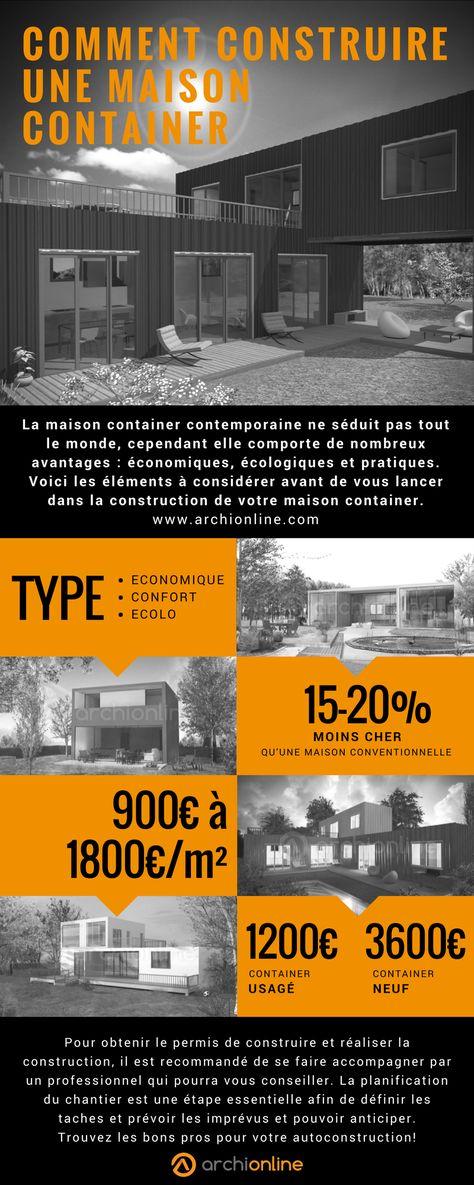 Procédé constructif  Construction du0027une maison container