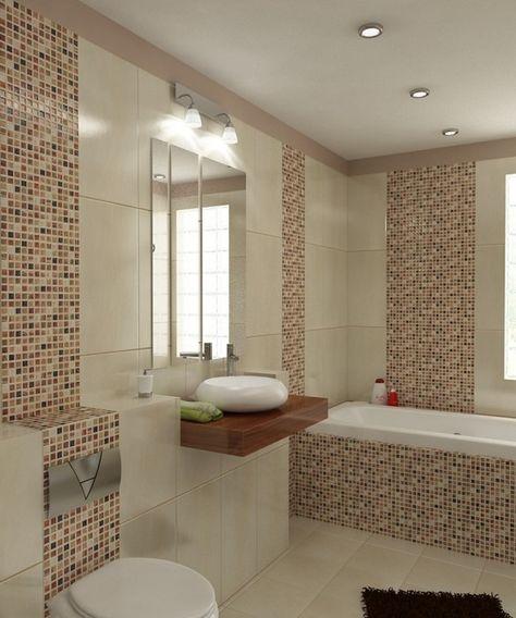 Badezimmer Ideen Braun Beige | Badezimmer braun, Luxus ...