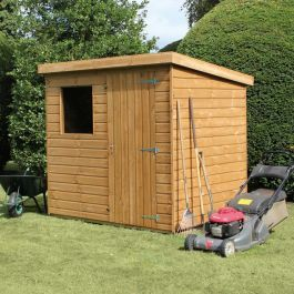 10 X 6 Traditional Standard Pent Wooden Garden Shed 3 05m X 1 83m Timber Garden Sheds Garden Shed Shed