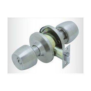 ドアノブ 交換用 トイレ 浴室錠 Fuki 円筒錠 Tlh 60 バックセット
