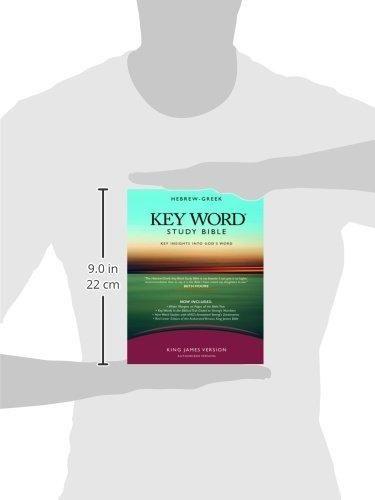 KEY WORD STUDY BIBLE KJV BLTH BLACK (Key Word Study Bibles) by Warren Baker