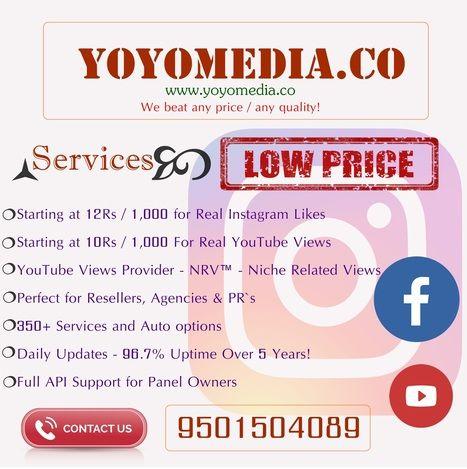 Buy youtube views adwords from yoyomedia cheap smm panel