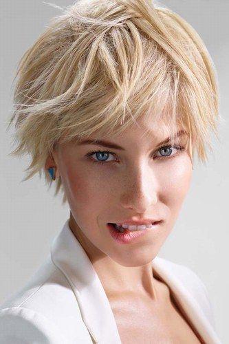 Tendance coiffure 2015 Coupe de cheveux courte, Coiffure